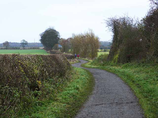 Reiver's Cycle Route, Dinnington