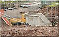 J3784 : New culvert, Jordanstown/Greenisland by Albert Bridge