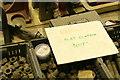 SE5207 : Markham Grange Steam Museum - health warning by Chris Allen