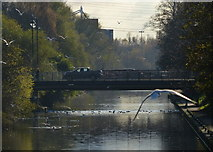 SK5803 : Upperton Road Bridge crossing the River Soar by Mat Fascione