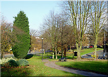 SO9098 : Parkland and Ring Road St Andrew's, Wolverhampton by Roger  Kidd