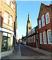 SK5804 : Guildhall Lane in Leicester by Mat Fascione