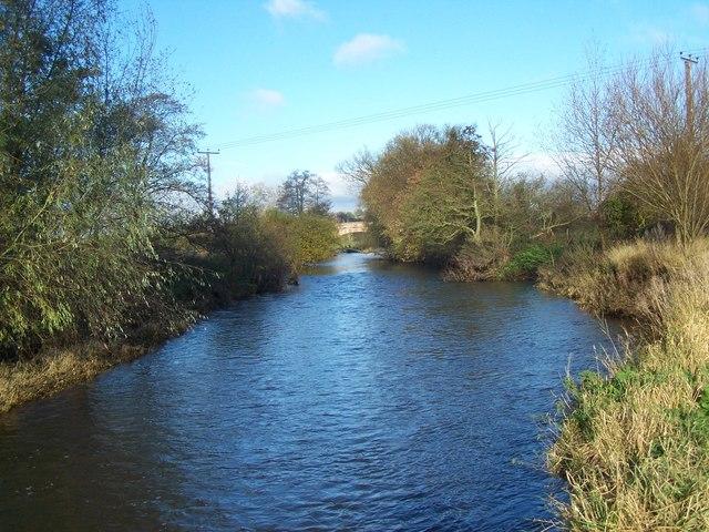 River Dove Near Rocester Bridge