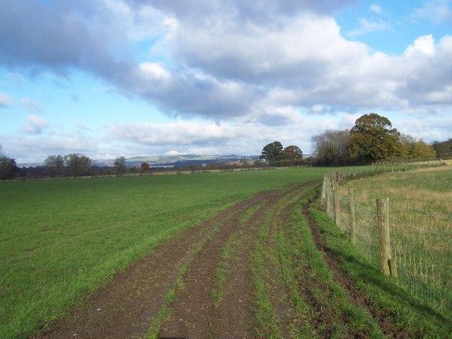 Staffordshire Way Near Eaton Hall Farm