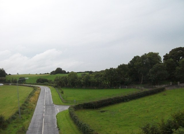 Minor road linking Donaghmore and  Acarreagh Townlands