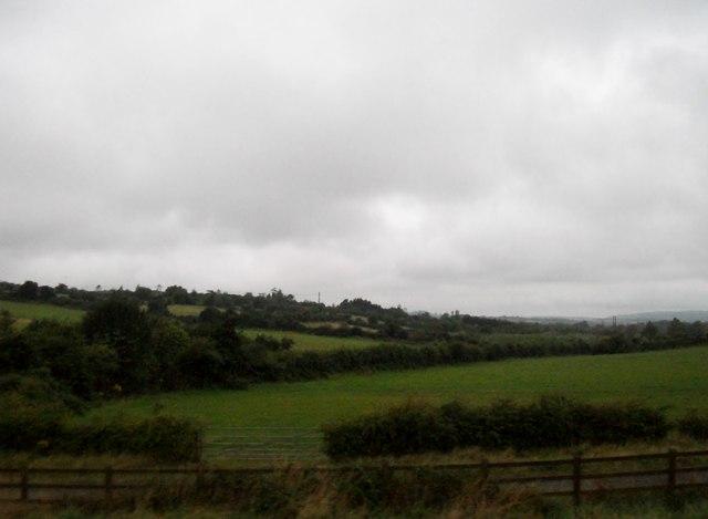 Farmland west of the M1 at Keenogue, Monasterboice