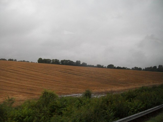 Cropland on the west side of the M1 at Claristown, Co Meath