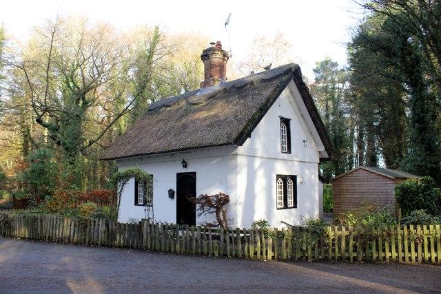 Nantwich Lodge on the Cholmondeley Castle Estate