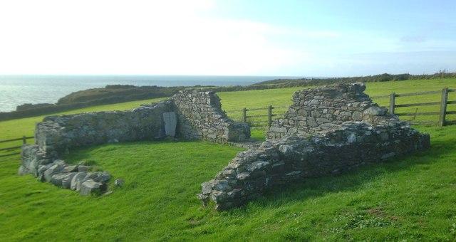 Capel Non - St Non's Chapel