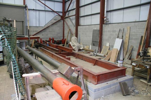 Markham Grange steam Museum - work in progress