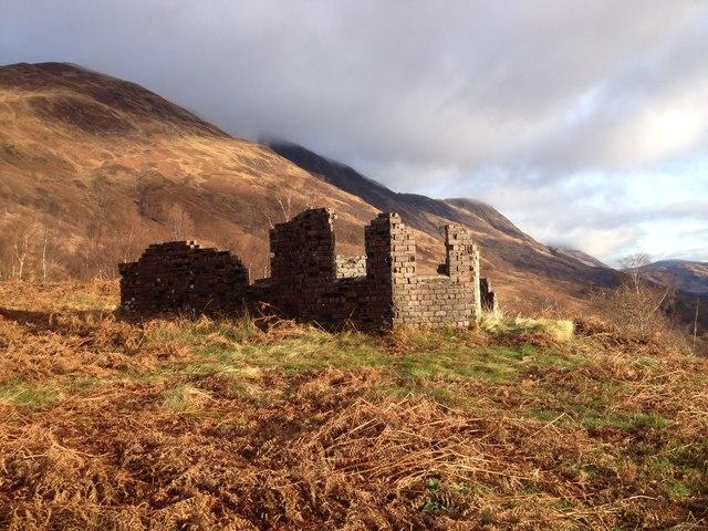 Ruined building near Callert