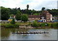 SO7875 : Rowing on the River Severn at Bewdley by Mat Fascione