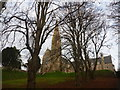 NS1655 : Firth Of Clyde Architecture : The Episcopal Cathedral Of The Isles And College Of The Holy Spirit, Millport, Cumbrae by Richard West