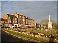 NS1654 : Firth Of Clyde Townscape : Sunshine On Millport by Richard West