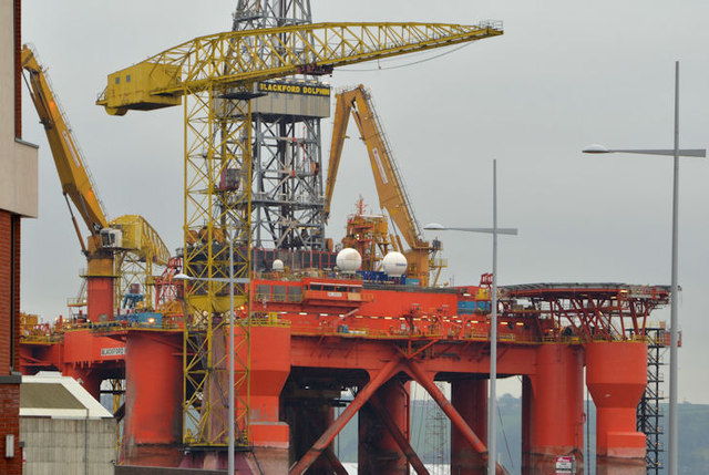 "The ""Blackford Dolphin"", Harland & Wolff, Belfast (2)"