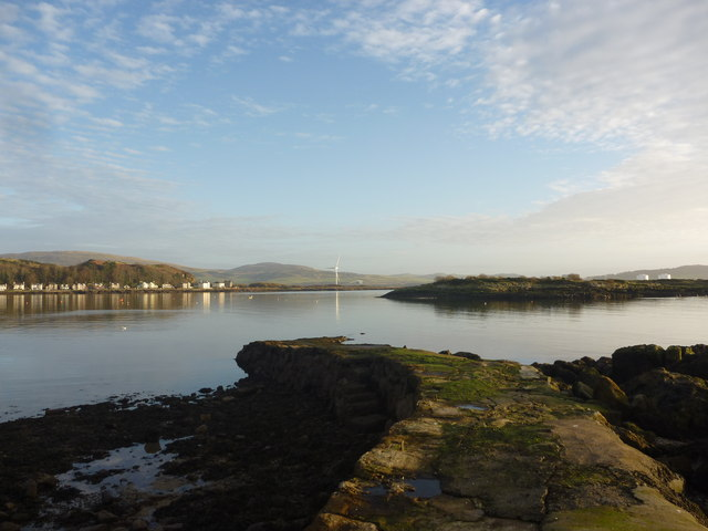 Firth Of Clyde : The Old Pier At Millport