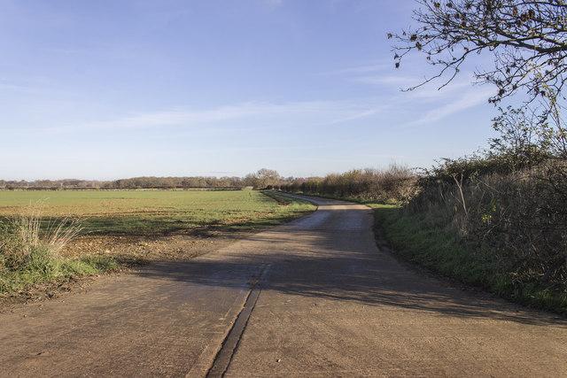 Track to Grange Farm