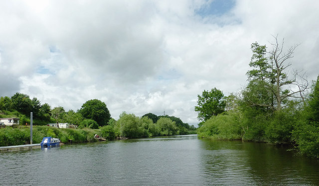 The River Severn north of The Burf, Worcestershire