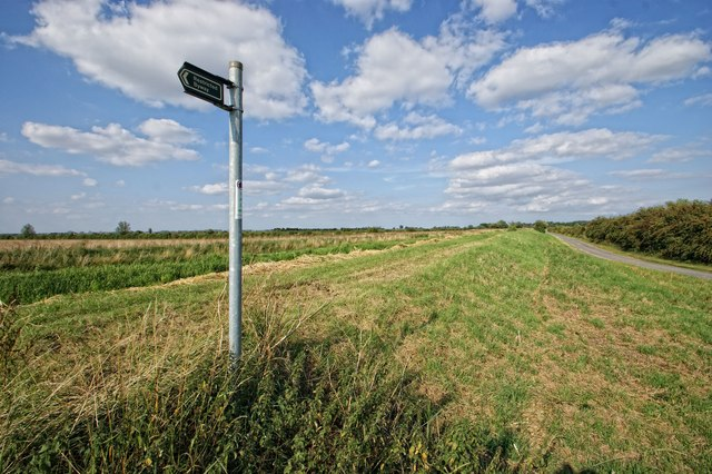 Restricted Byway near Ewerby Thorpe