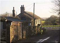 SX3358 : Cottage, Trerulefoot by Derek Harper