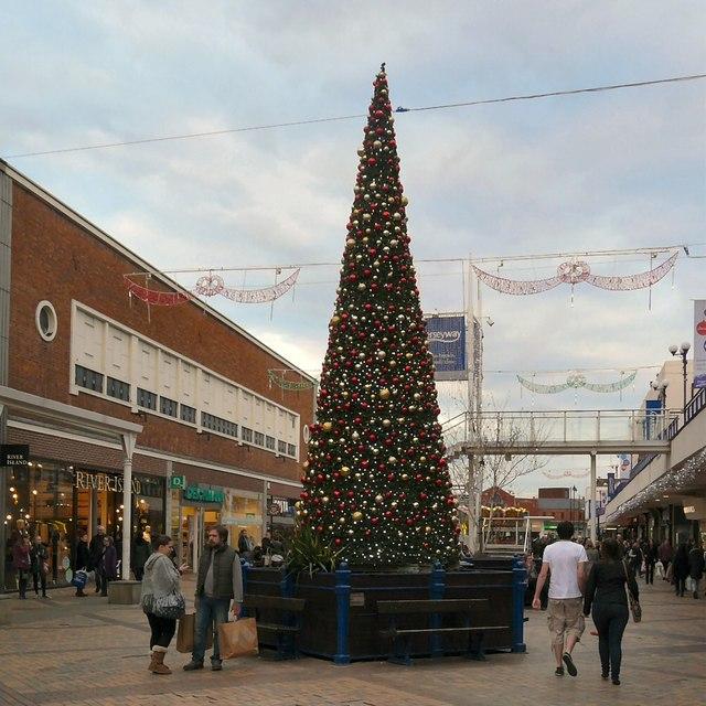 Merseyway Christmas Tree 2013