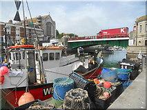 SY6778 : Weymouth - Weymouth Lifting Bridge by Peter Elsdon