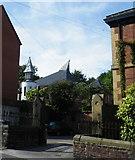 SK3488 : St Bartholomew's Church from Burgoyne Road, Sheffield - 1 by Terry Robinson