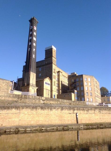The Damart mill at Bingley