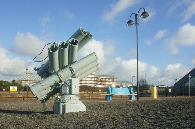 Corvus a chaff decoy launching system