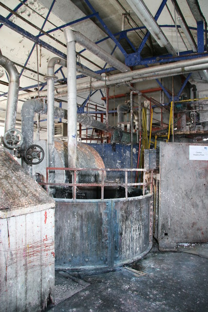 Frogmore Mills - process plant