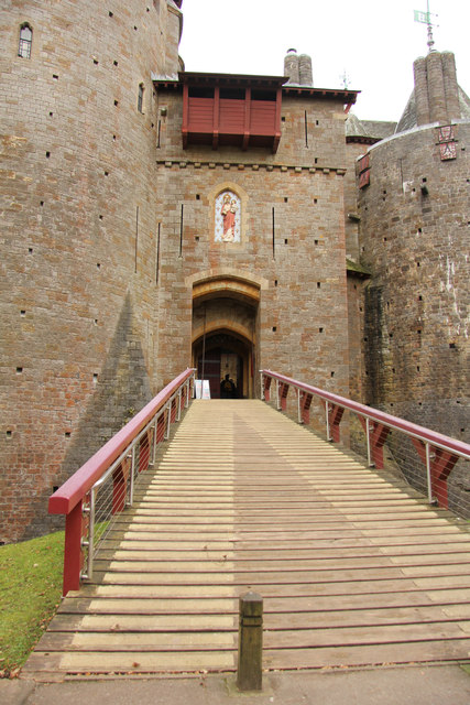 The Gatehouse, Castell Coch