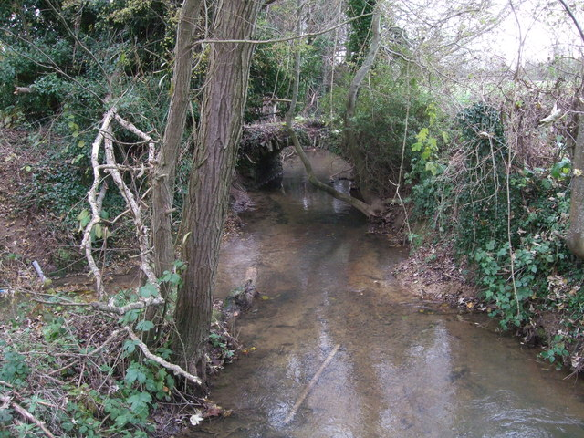 Bridge over tributary to the River Coln near Lechlade