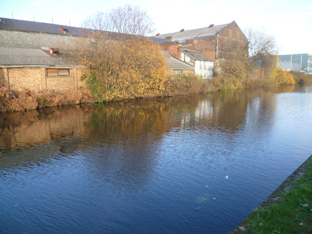 Looking across the Paddington Arm of the Grand Union Canal