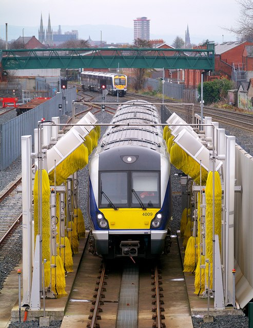 Train, Adelaide maintenance depot Belfast
