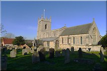 SK9324 : Church of St John the Baptist, Colsterworth by Tim Heaton