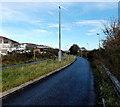 SS6793 : Path ENE of Fabian Way footbridge, Swansea by Jaggery