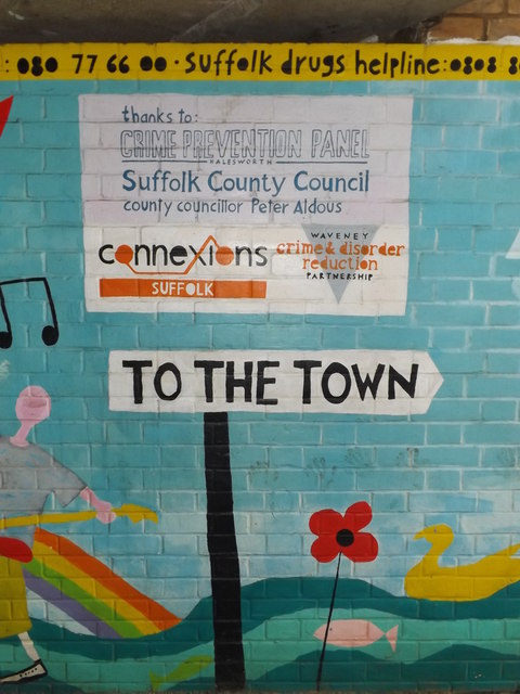 To the Town Mural