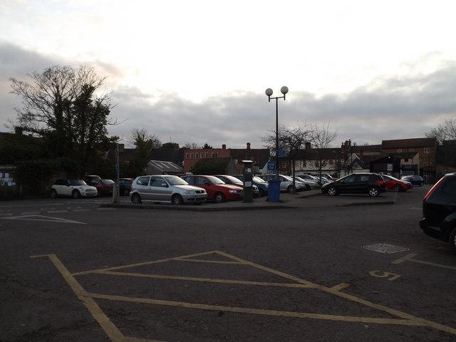 Car Park off the A144 Saxons Way