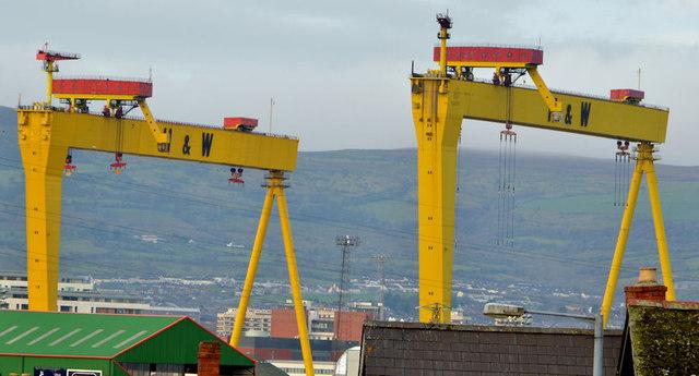 """Samson"" and ""Goliath"", Belfast (7)"