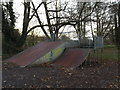TM3877 : Skatepark in Town Park by Adrian Cable