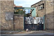 SK3487 : Gate 5, Record Ridgway Site (Former), Shepherd Street, Shalesmoor, Sheffield by Terry Robinson