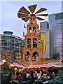 SJ8398 : Exchange Square Christmas Market by David Dixon