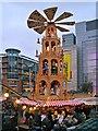SJ8398 : Exchange Square Christmas Market by David Dixon