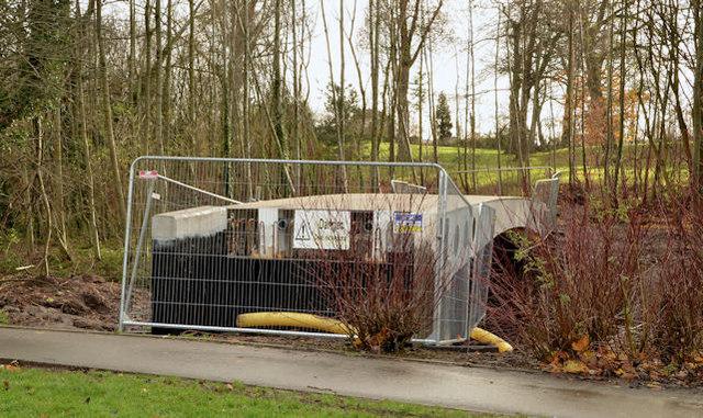 New footbridge, Orangefield Park, Belfast (2)
