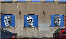 SK3487 : Faces of Industry, Doncaster Street, Shalesmoor, Sheffield by Terry Robinson