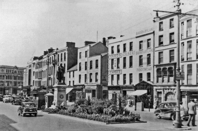 Cork: St Patrick Street, 1955