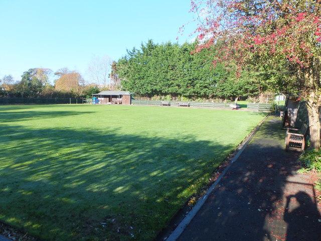 Bowling green, Lytham