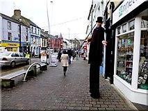 H4572 : A tall man, Omagh by Kenneth  Allen