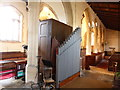 TF0025 : Church of St John the Evangelist: Organ pipes by Bob Harvey