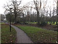 TM3877 : Path in Town Park along Town River by Adrian Cable